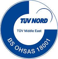 TUV NORD (BS OHSAS 18001:2007) - HAWA ENGINEERS LTD. - MARCK BRAND - VALVES MANUFACTURER COMPANY