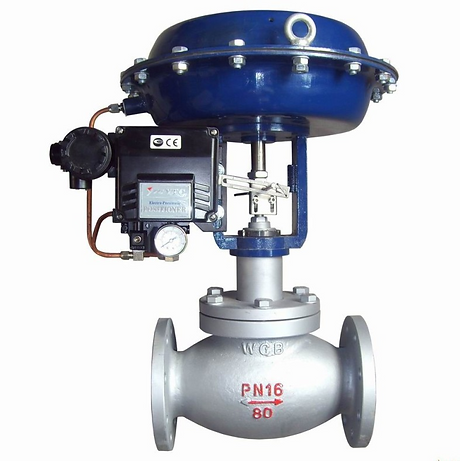Control Valves - Cast Steel - Stainless Steel - ZAC - AIRA - MARCK - Manual - Pneumatic – Motorized