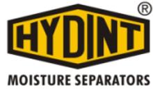 HYDINT MOISTURE SEPARATOR BRAND LOGO