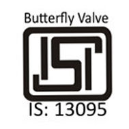 ISI 13095 (BUTTERFLY VALVE) - BIS - HAWA ENGINEERS LTD. - MARCK BRAND - VALVES MANUFACTURER COMPANY