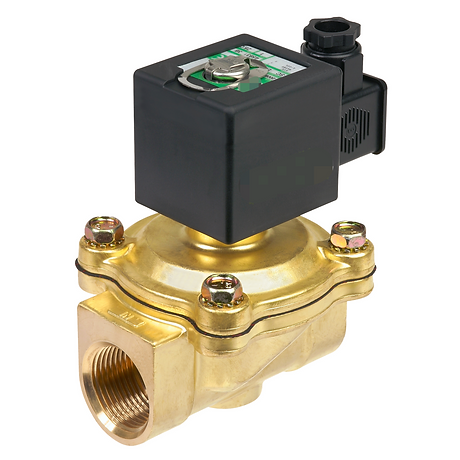 Solenoid Valves - Brass - Cast Steel - Stainless Steel - ZAC - AIRA - MARCK - Pneumatic - Motorized