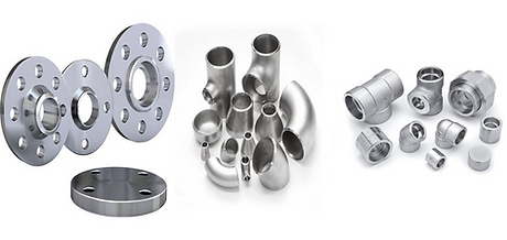 Flanges & Fittings - CI - MS - Stainless Steel - ZAC - AIRA - MARCK - Manual - Pneumatic - Motorized