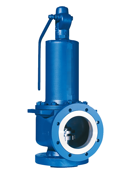 Safety Valves - Pressure Relief Valves - Stainless Steel - ZAC - AIRA - MARCK - Manual - Pneumatic