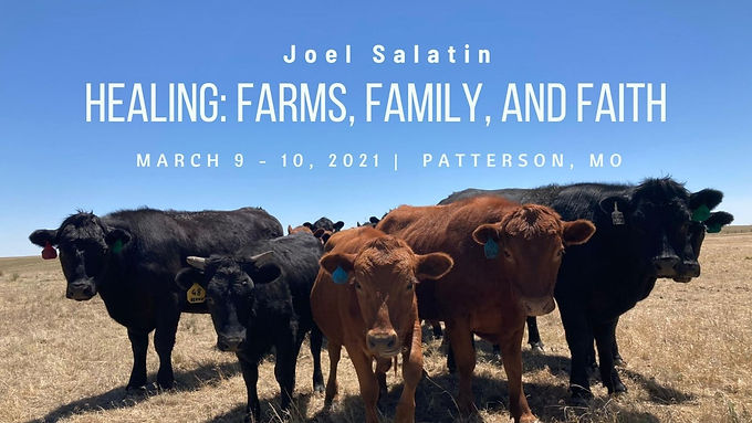 HEALING: FARMS, FAMILY AND FAITH