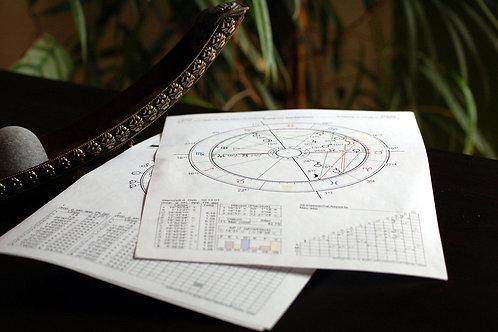 Astrologische Beratung 60 min