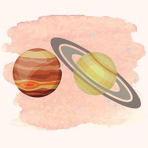 Jupiter-Saturn Konjunktion