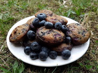 Grain-free Blueberry Muffin Tops