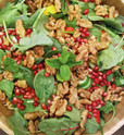 Walnut, Mint & Pomegranate Salad