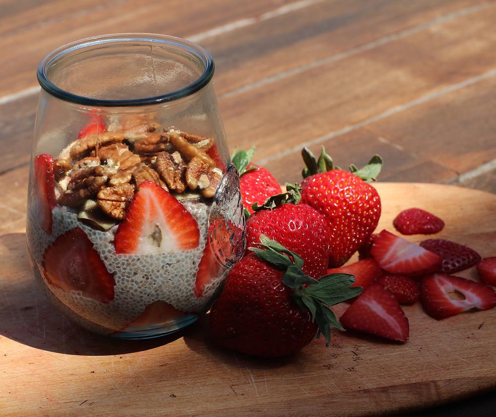 Chia Pudding Breakfast or Dessert