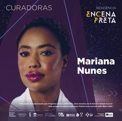 Mariana Nunes - Curadora EnCena Preta
