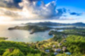 Sunset at English Harbor, Antigua and Ba