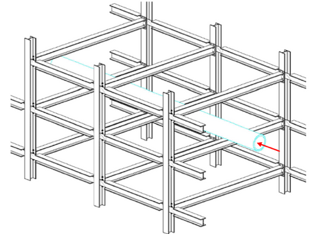 Cost-effective connections for columns under torsional loads.