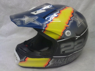 My Enduro lid, should stand out a bit mo