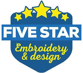 fivestar embroidery logo