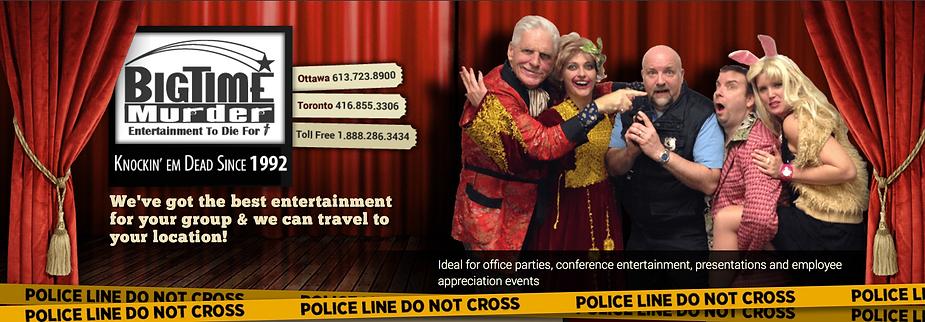 Murder Mystery Ottawa funny improv performers of ottawa not Eddy may Velvet room byward market