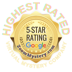 Zoom Mystery has the highest 5 star Google rating for family events