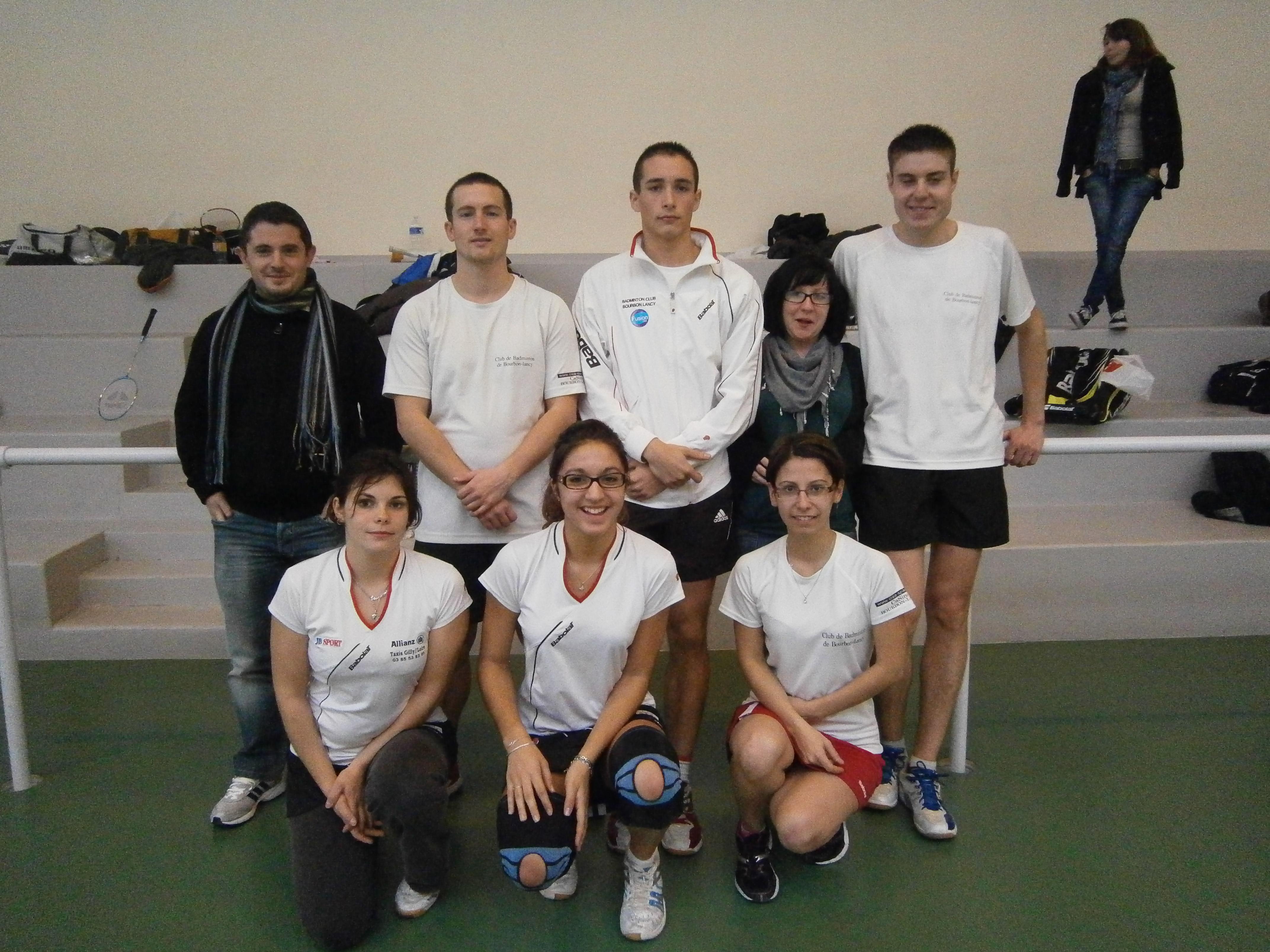 Bourbon-Lancy - Equipe 1 - 2014