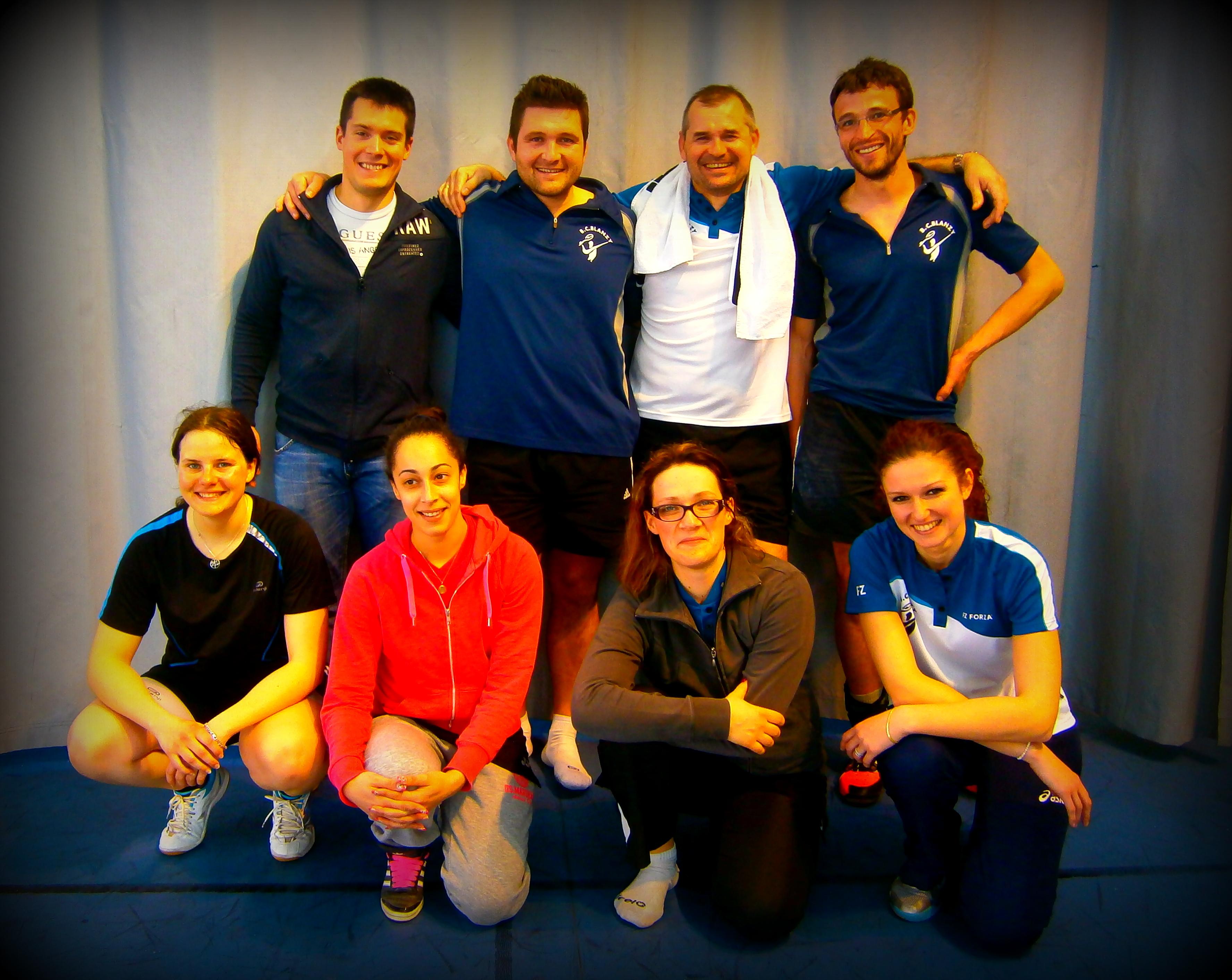 Equipe championne de D1 - 2015