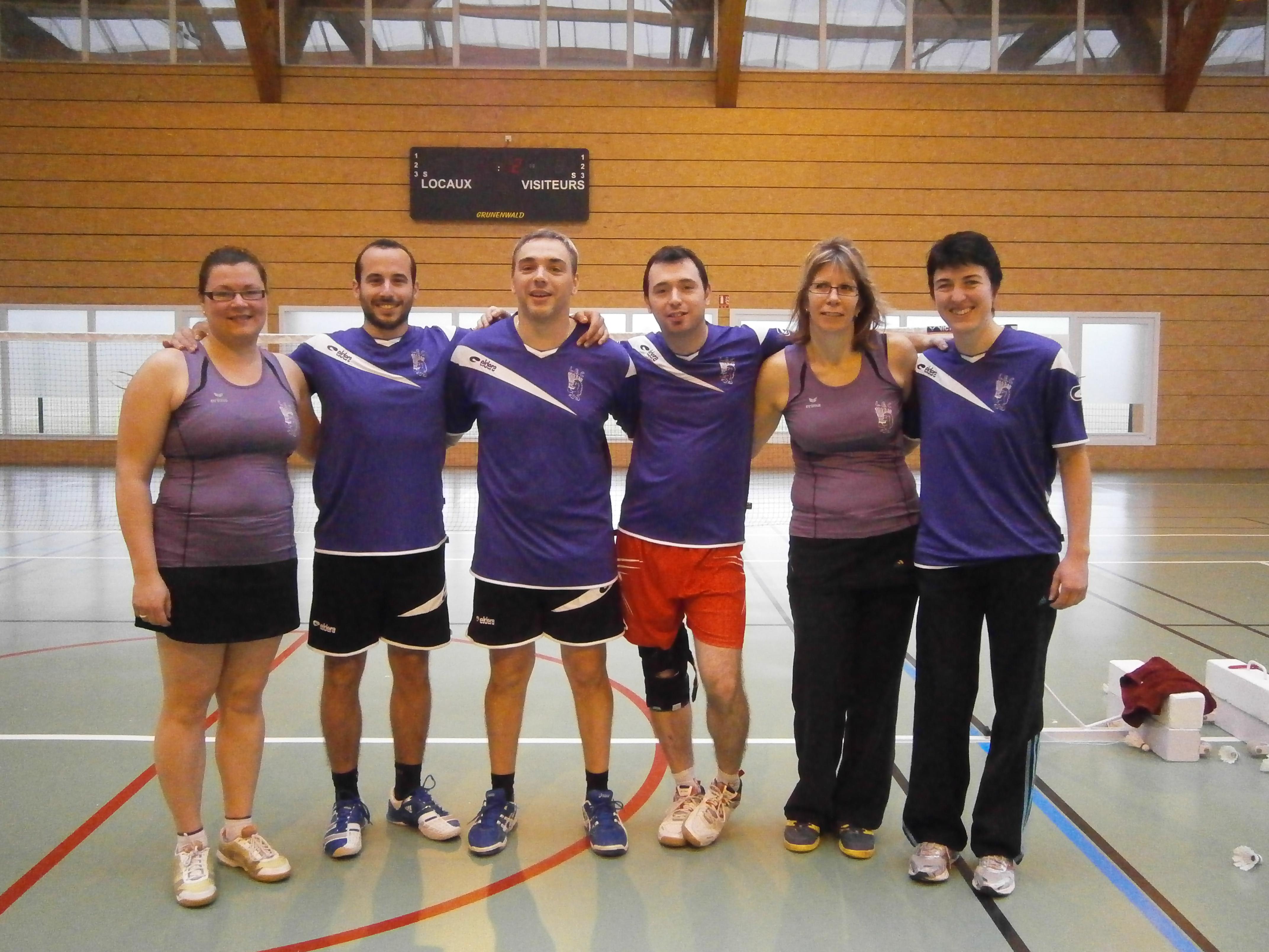 Crêches - Equipe 1 - 2014