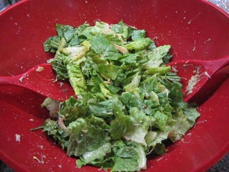 Caesar Salad Dressing (dairy free, gluten free)