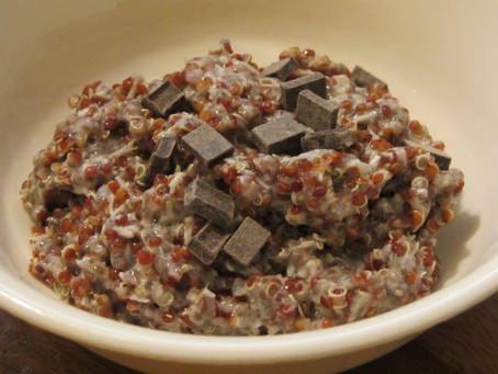 Quinoa Chia Porridge (gluten-free, dairy-free, vegan)