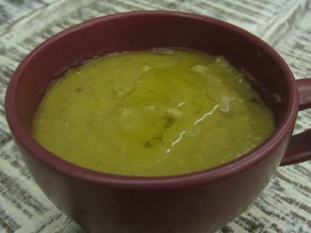 Crock Pot Split Pea Soup (dairy & gluten free)