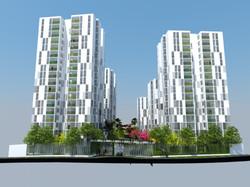 """Social Housing """"The Gardens"""""""
