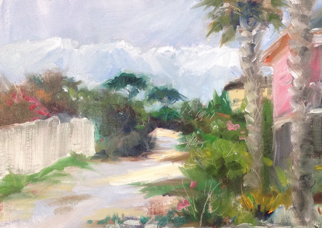 """Beach Road en plein air"""