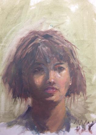 """Portrait Study 2"" 2016"