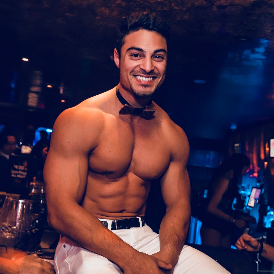 Topless host and waiter 3 hour booking