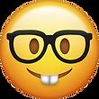 Nerd Emoji [Free Download iPhone Emojis]