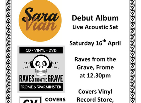 Debut Album Launch on Record Store Day!