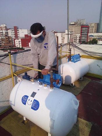 Servicios Gas LP COVID 19