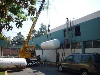 Maquinaria para tanques de gran capacidad