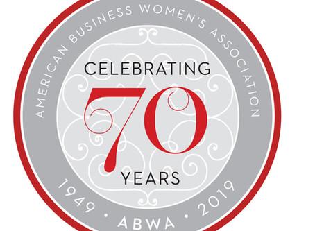ABWA Celebrates 70 Years