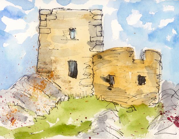 Carrickabrashey Castle