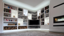 tv unit, DTQ Designs