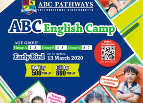 ABC Pathways International Kindergarten English Camp (March - May 2020)