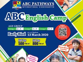ABC Pathways International Kindergarten English Camp (March - May 2020)