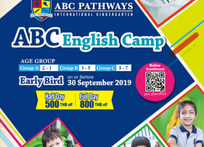 ABC English Camp (September-October 2020)