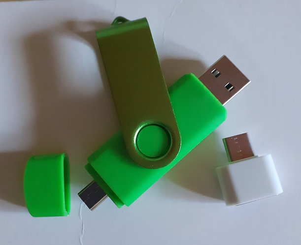 Unidad flash usb, microunidad de 64GB