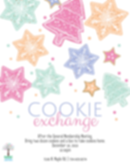Copy of Cookie Exchange Party Invitation