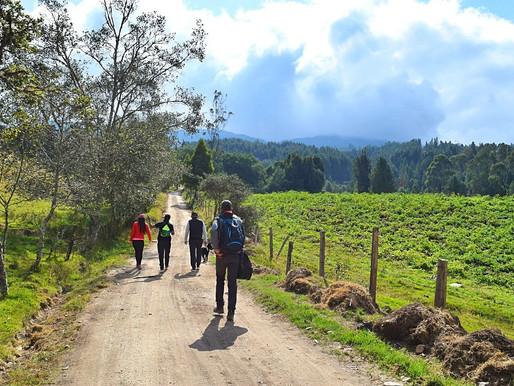 SENDERISMO EN COLOMBIA (10KM) A LA CIMA CON ESPECTACULARES VISTAS SOBRE SISGA