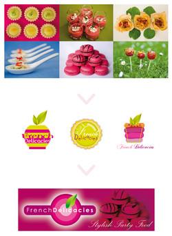 "Logo pour ""French Delicacies"""