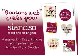 "Boutons web pour ""Siandso"""