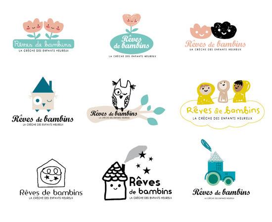 """Logo pour """"Rêves de bambins"""""""