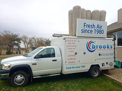 Furnace and Duct Cleaning Truck