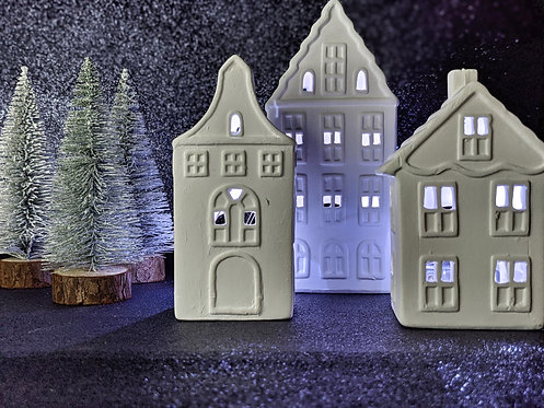 The Little Candle Co Tealight Houses
