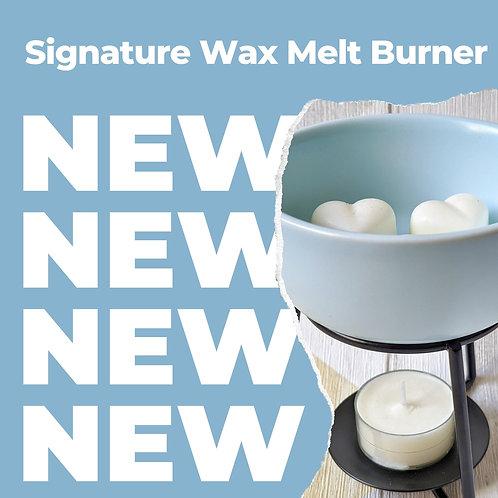 Signature Wax Melt Burner + 10 Wax Melts