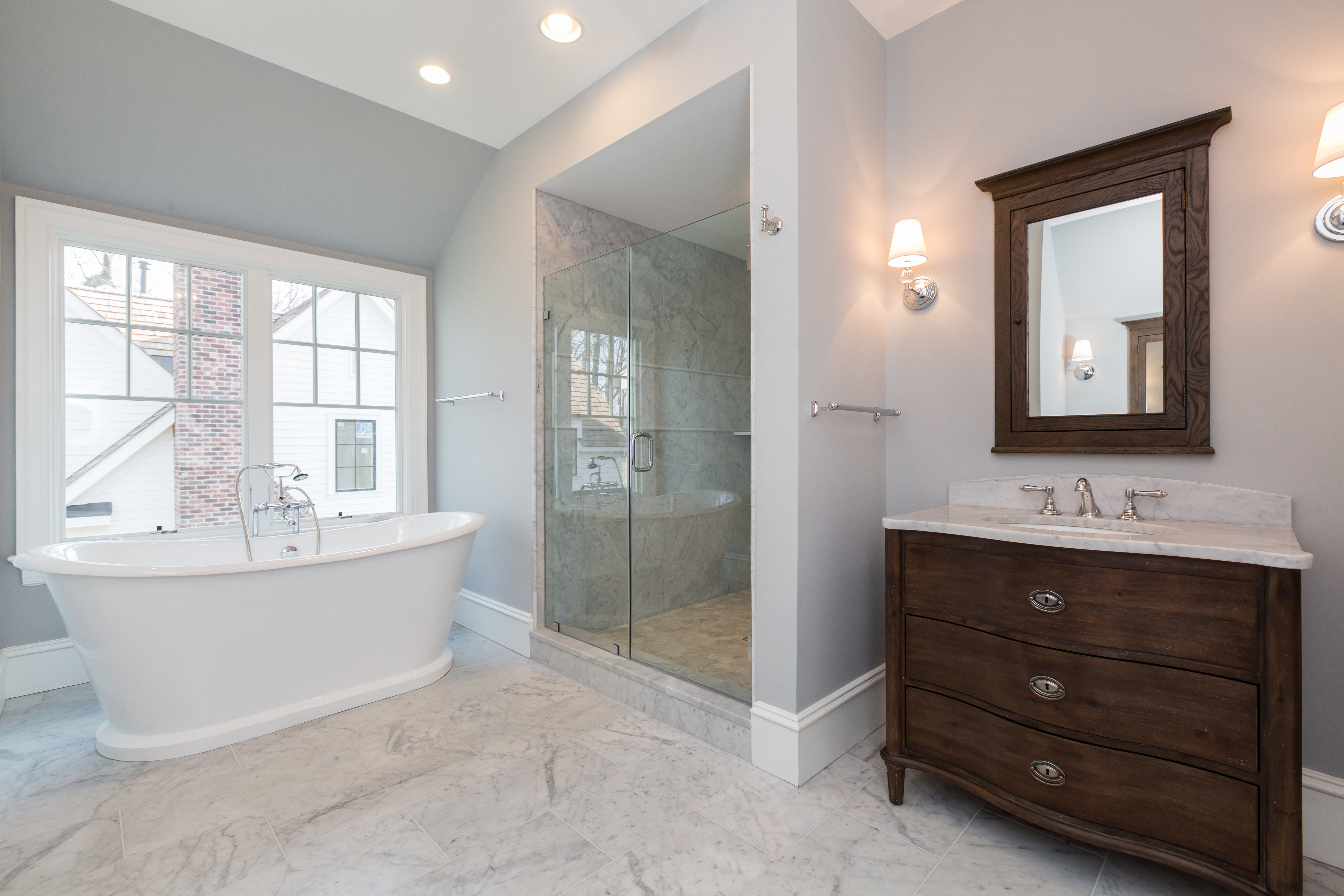 Franklin Avenue Master Bath